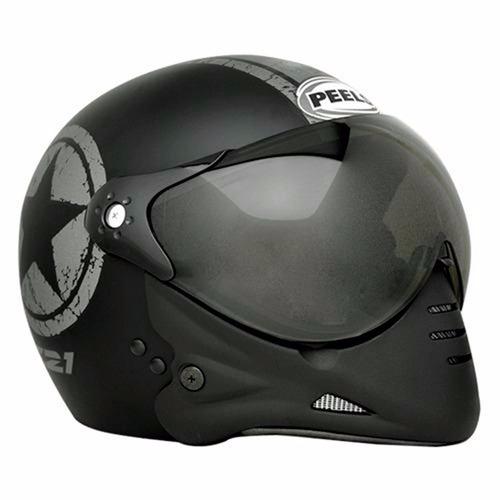 capacete peels f-21 us navy preto fosco grafite 58 original