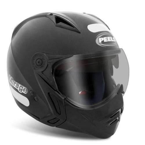 capacete peels mirage c/ oculos solar interno italiano
