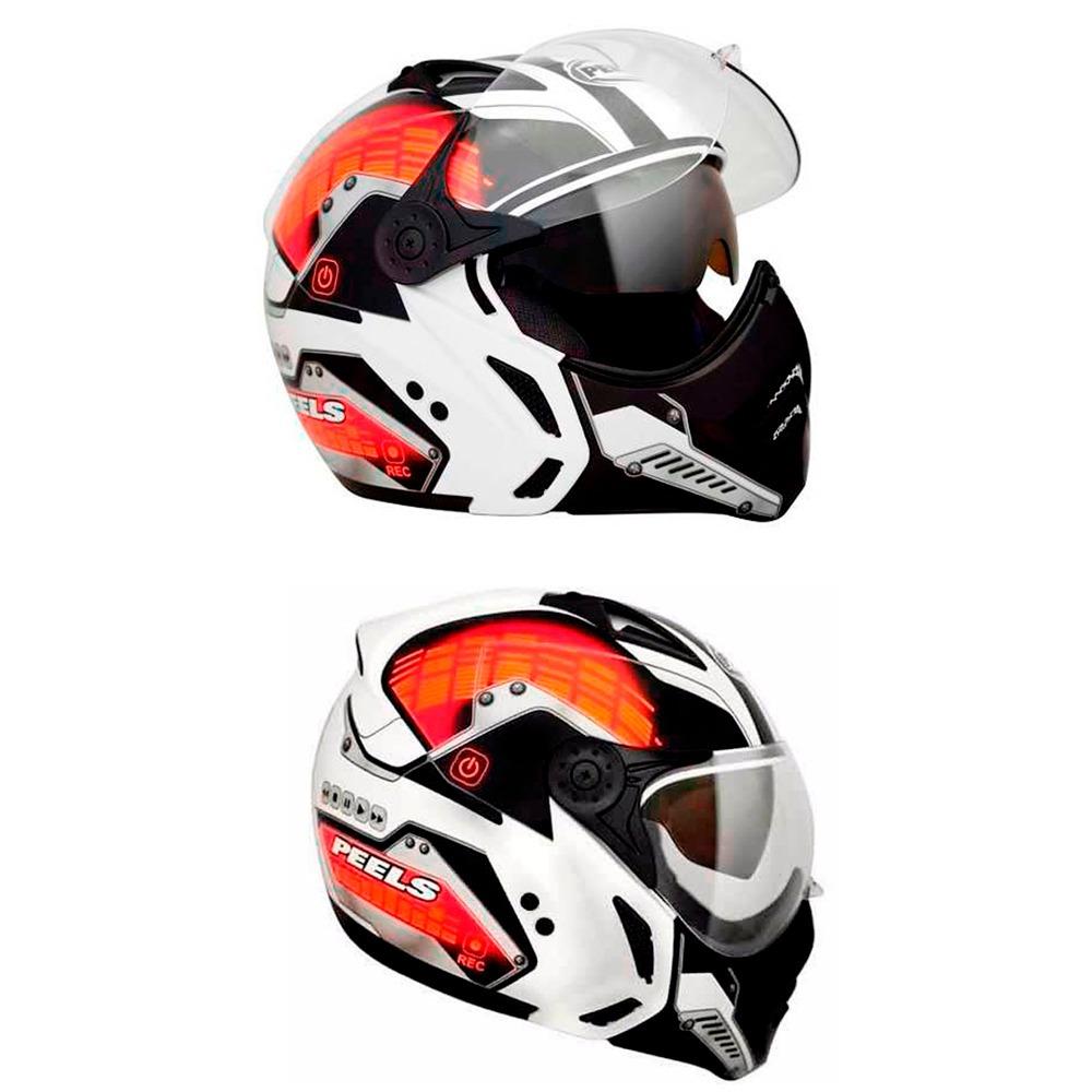 65c6740c37b52 capacete peels mirage citylight com viseira solar tam 56 red. Carregando  zoom.
