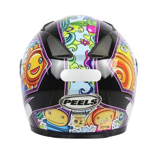capacete peels smart rave preto 60