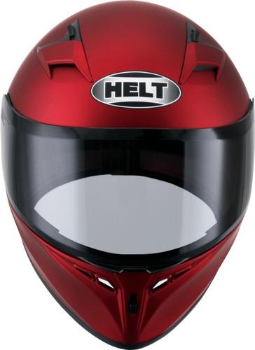 capacete polar vermelho fosco 58