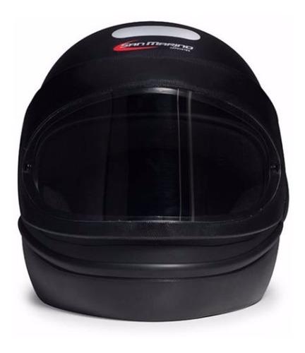 capacete preto fosco san marino classic