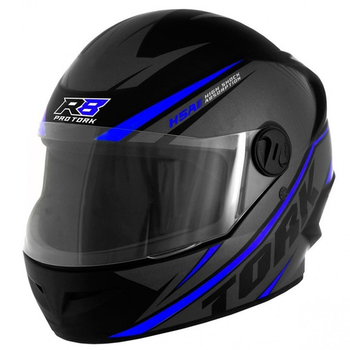 capacete pro tork fechado r8 cores 2018 + viseira camaleão