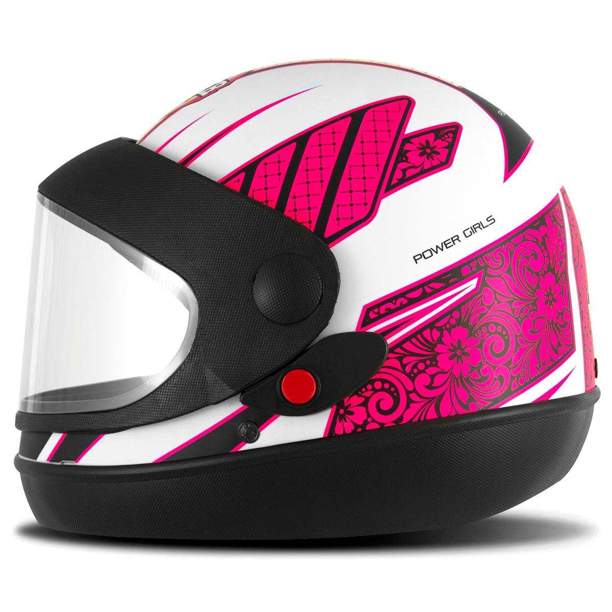 capacete pro tork sport moto power girls fechado automático. Carregando  zoom. 7eb402ade39