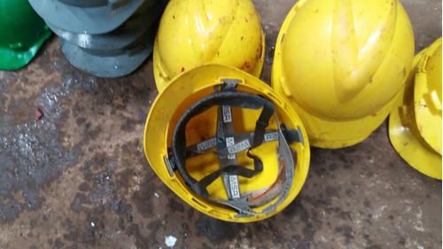 capacete proteção obra