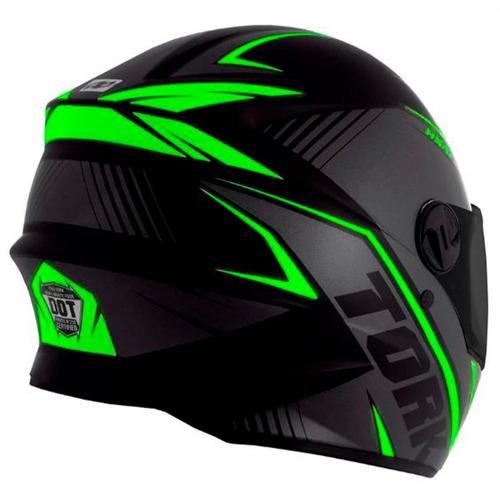 capacete r8 pro tork fundo preto fume oferta loi