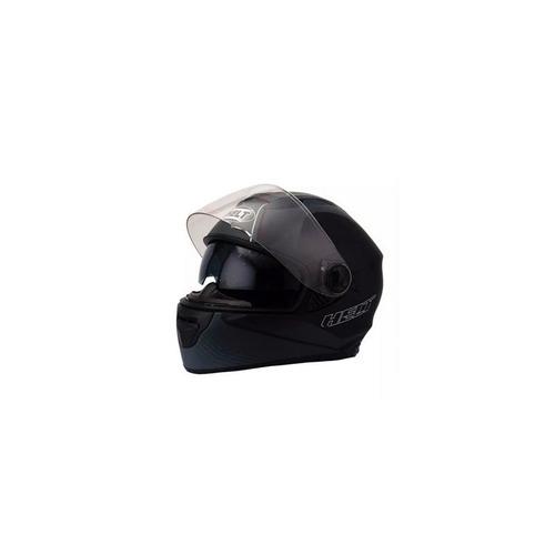 capacete race glass road 58 preto fosco