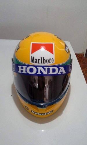 capacete replica senna 91 temos todas as temporadas