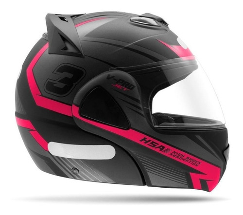 capacete robocop masculino pro tork v pro jet 3 rosa