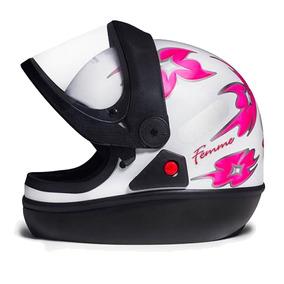 497eedac5 Viseira Rosa Capacete San Marino - Acessórios de Motos no Mercado Livre  Brasil