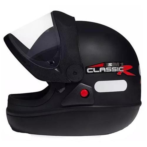 capacete san marino preto fosco 58