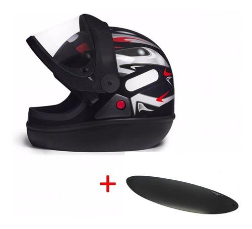 capacete san marino taurus automático mais viseira