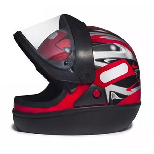 capacete san marino vermelho 58