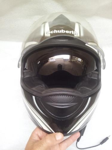 capacete schuberth s1 orig.fechado s1000rr hp4 r1 cbr ducati