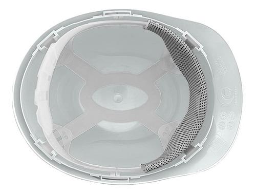 capacete segurança camper branco e protetor auricular 3m