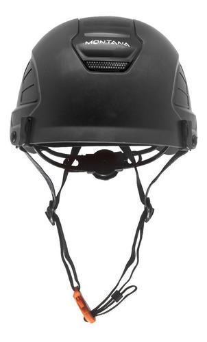 capacete segurança focus preto montana novo