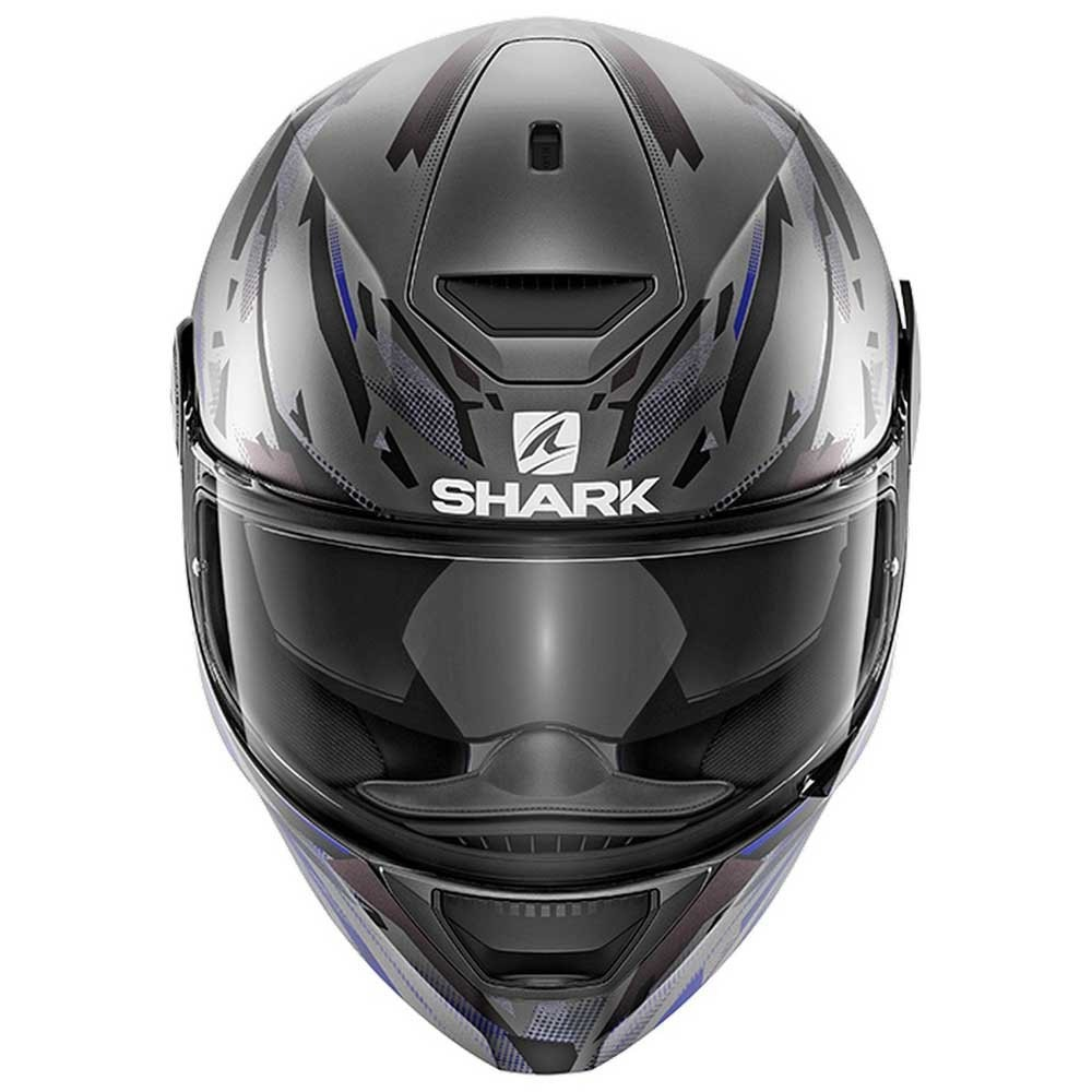 Capacete Shark D-skwal Matt Abk - Oculos Solar - R  1.489 1bb4c02d757