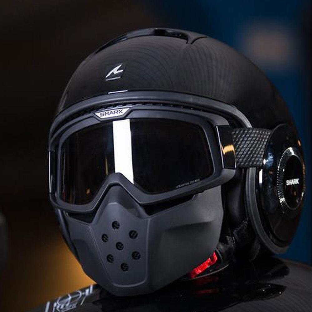 capacete shark raw blank blk - 58. Carregando zoom. c3100ee475f