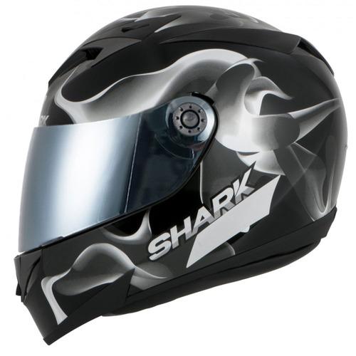 capacete shark s700 glow 3 ksk pret (original) c/nota fiscal