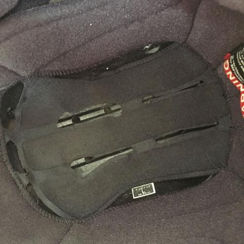 capacete shoei hadron - friba de carbono 57-58