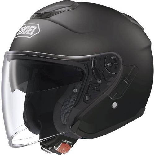 capacete shoei j-cruise preto fosco 12x sem juros
