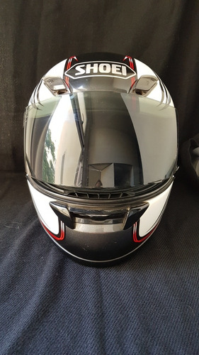 capacete shoei rf-1000 (l) 59/60. acompanha 3 viseiras