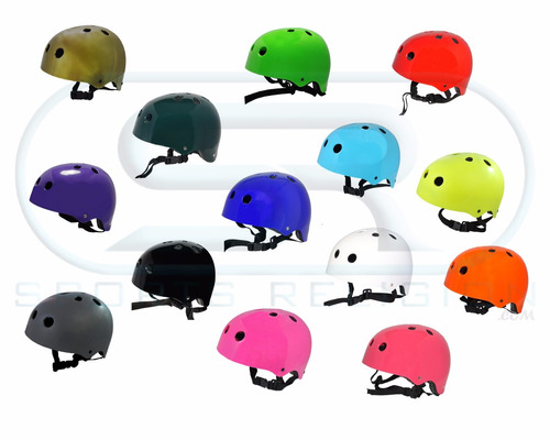 capacete skate / patins / bike profissional abs go sports