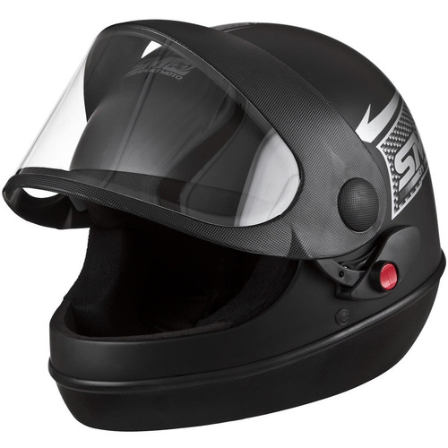 capacete sm moto automatico marino pro tork motoboy