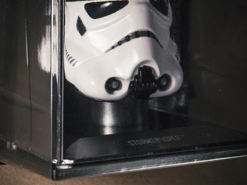 capacete starwars stormtrooper 1:5
