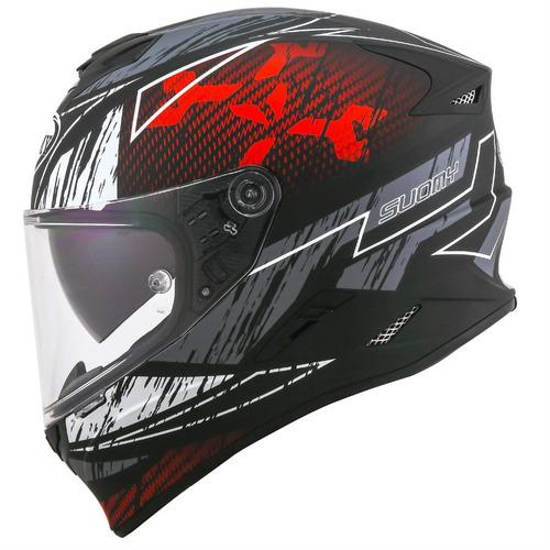 capacete suomy suomy stellar phanton preto fosco