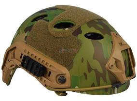 870f10b4bd Capacete Tatico Militar Camuflado no Mercado Livre Brasil