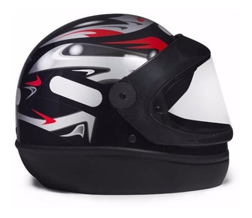 capacete taurus sam marino preto automático + viseira