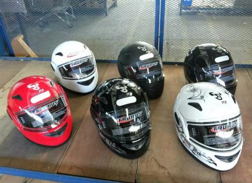 capacete taurus zarref v3 - rosa femme classic tamanho 56