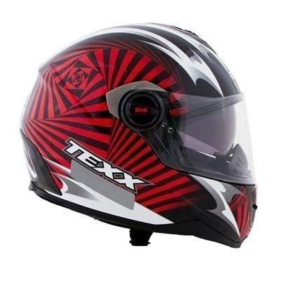 capacete texx action hypnose em fibra de vidro double vision
