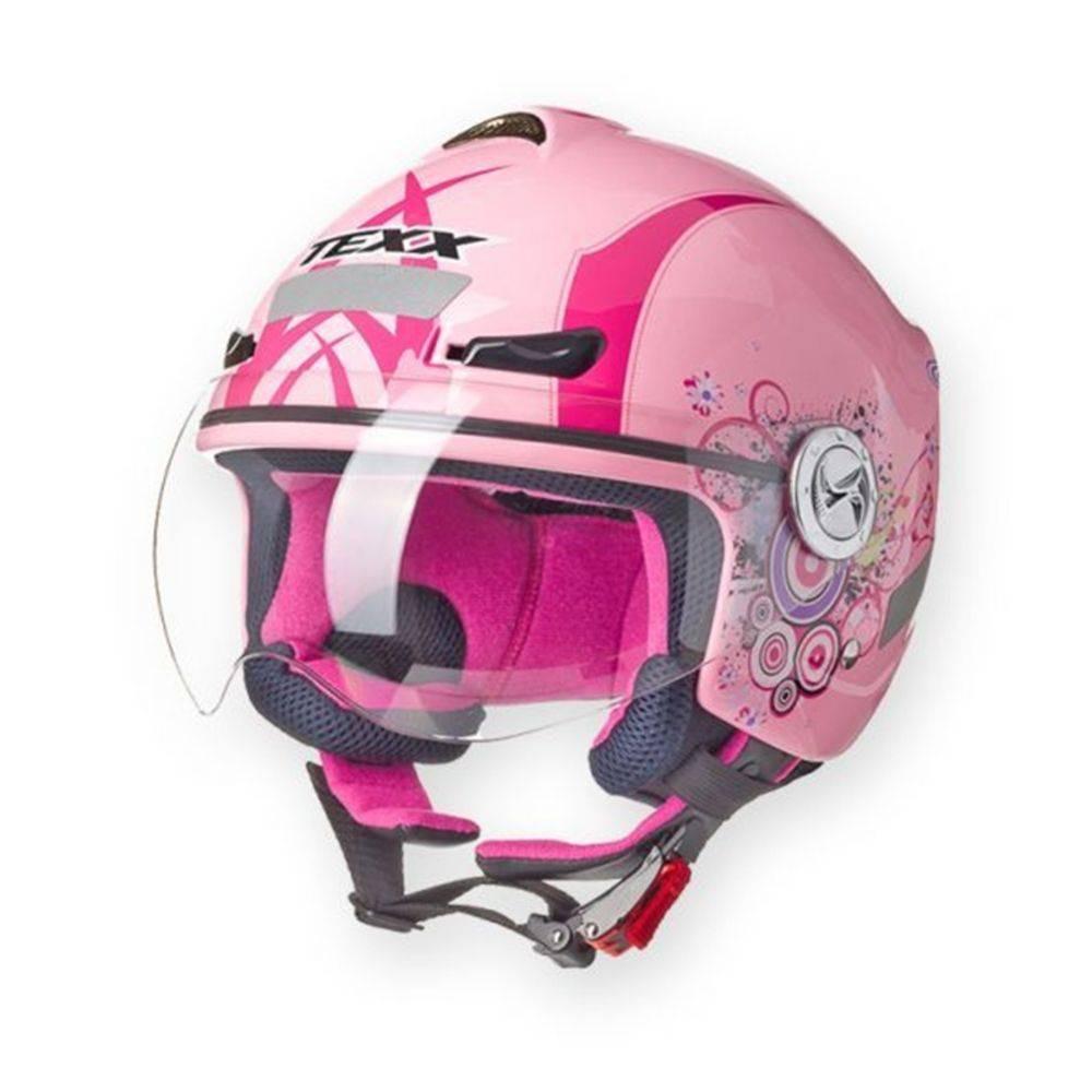 Capacete Texx Arsenal Versao New Breeze Pink Xl-61 - R  128,00 em ... 51218b9d5b