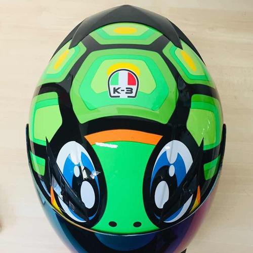 capacete valentino df2 tam 58 2 viseiras adesivos brinde