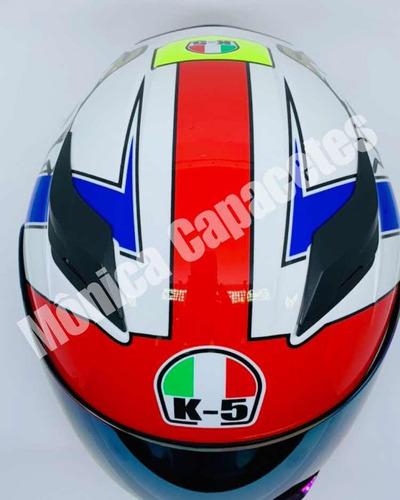 capacete v.rossi 57/58 2 viseiras óculos adesivos