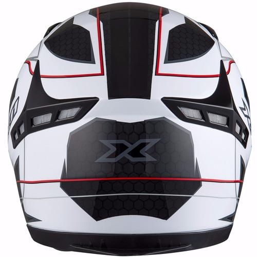 capacete x11 volt branco