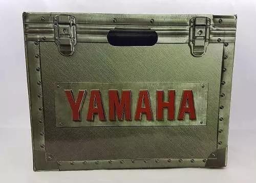 capacete yamaha sport original azul fosco 56/58 frete gratis