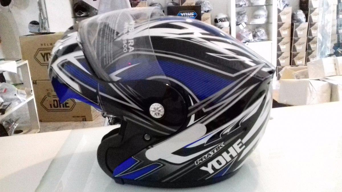 capacete yohe pratik 936 escamoteável articulado azul 60. Carregando zoom. 76a3b725499