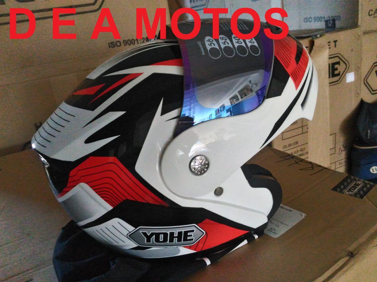 capacete yohe pratik luminix escamoteável vermelho 60 + vis. Carregando  zoom. e5bf33fc708