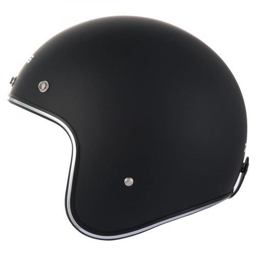 capacete zeus aberto 380h - preto fosco
