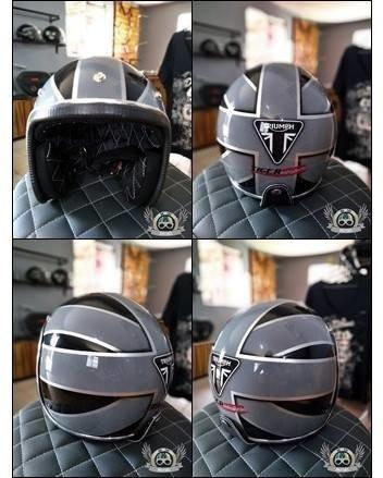 capacetes custom - escolha sua arte