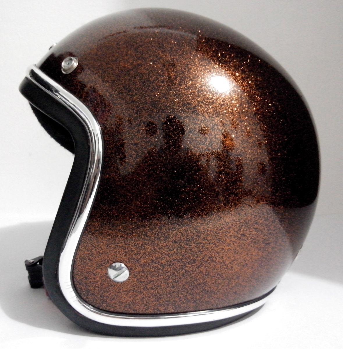 45f3c08248be5 capacetes customizados por encomenda old school metal flake. Carregando  zoom.