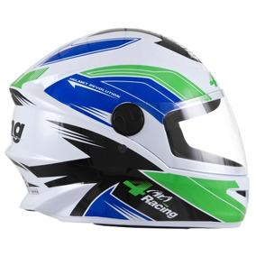 5a0d9010bd2e7 Viseira Espelhada Para Capacete Pro Tork Sport Moto - Capacetes para ...