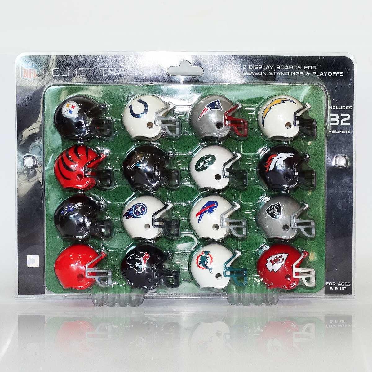 Capacetes Nfl - Nfl Mini Helmet - 32 Times Da Afc E Nfc - R  389 7988ee9ea7c8a