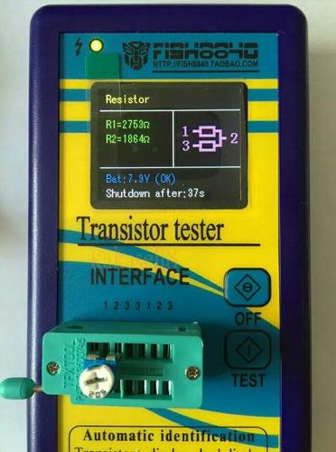 capacheck probador inteligente de componentes electronicos