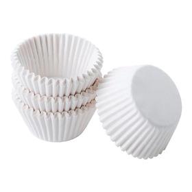 Capacillos Blancos N°5 Para Cupcakes 100 Pzas,