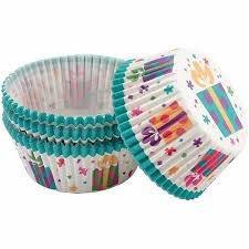 capacillos para ponquesitos (cupcake) caja de regalo x75