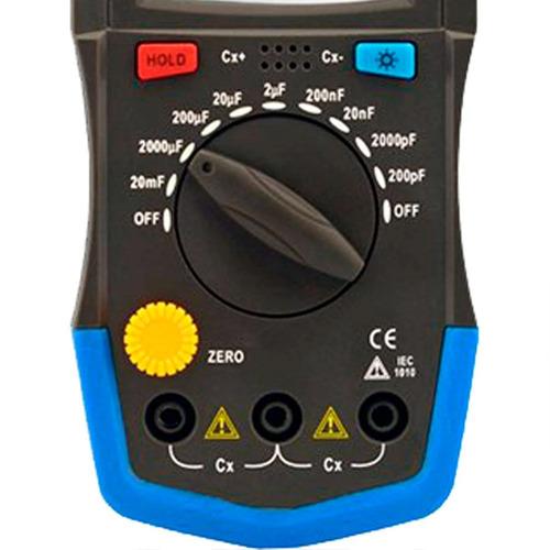capacímetro digital - mc-154a minipa